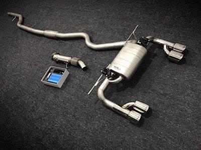 CS車宮車業 VVS 電子閥門 排氣管中尾段 BMW F30系列 320i 328i 335i