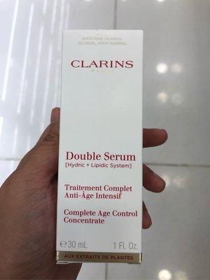 (現貨) ~法國 Clarins 賦活雙精華 Double Serum 30ml ~ 到期日: 2021年 02月