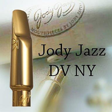 ∮愛友樂器∮ 美國Jody Jazz【Sax Alto Mouthpiece DVNY 薩克斯風 中音 金屬吹嘴 】