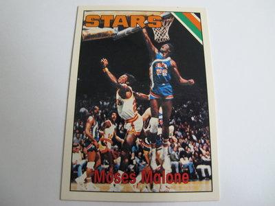 ~ Moses Malone ~1996年Topps Reprint 摩斯·馬龍 NBA球員 復古老人 特殊卡 #254