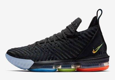 (A.B.E)Nike 耐克 LeBron 16 I Promise We Are Family AO2595-004 男女潮鞋