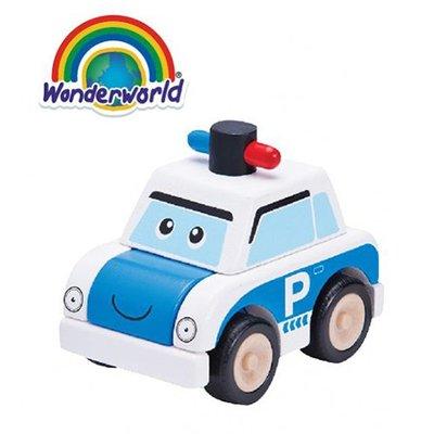 泰國 Wonder World 歡樂拼裝系列-警車