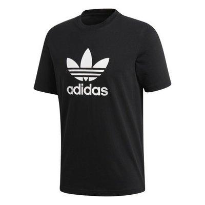 【Footwear Corner 鞋角】Adidas Men OG Trefoil Tee Black 三葉草短袖上衣