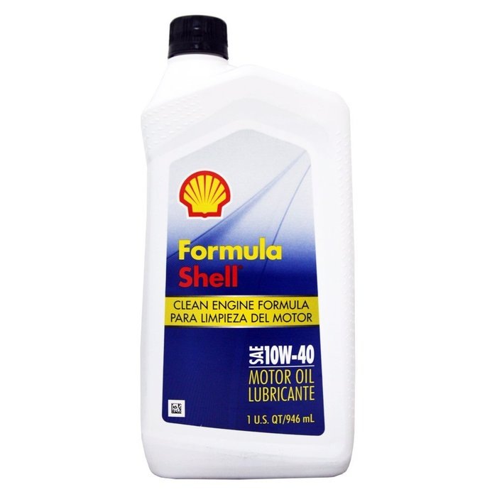 【易油網】美國原裝進口 SHELL Formula 10W40 機油 10W-40