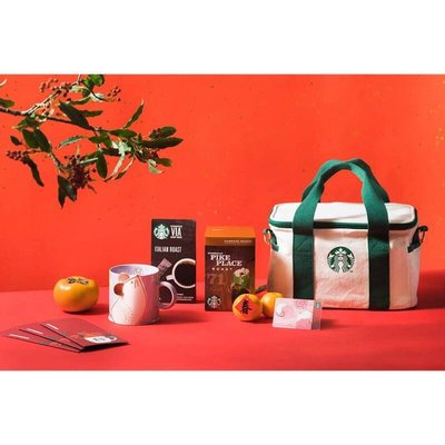 星巴克 鼠運亨通新春禮 Starbucks 2020/01/01上市 福袋鼠年 馬克杯即溶 掛耳 提袋 隨行卡紅包袋