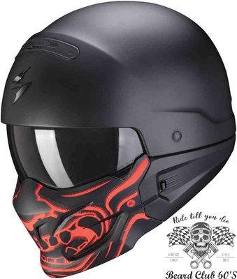 ♛大鬍子俱樂部♛ Scorpion® Exo Combat Evo Samurai 蠍子 街車 消光 Jet 安全帽
