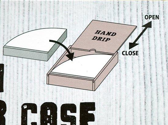 晴天咖啡☼ 木製濾紙盒  咖啡濾紙收納盒 手沖咖啡。 kalita 101、102、HARIO 01、02皆可用