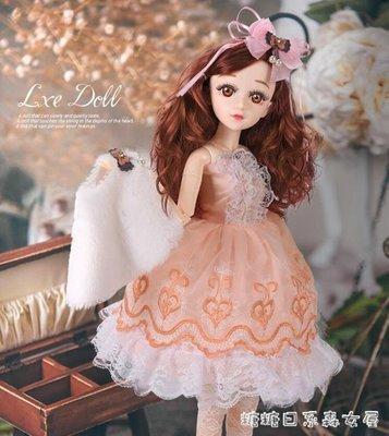 超低價 芭比娃娃-芭比娃娃 女 單個仿真玩具套裝女孩換裝公主6 來福客棧