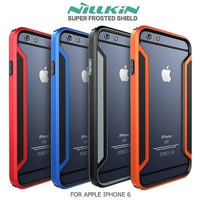 ~哈姆行動通訊~NILLKIN APPLE IPHONE6 iphone 6 護甲系列 雙料邊框 TPU手機框 防撞外框