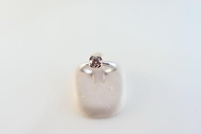 [吉宏精品交流中心]35分 天然鑽石 PT900白金 八心八箭 造型 戒指 鑽戒