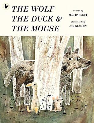 *小貝比的家*THE WOLF THE DUCK AND THE MOUSE/平裝書/3~6歲/幽默 Humor