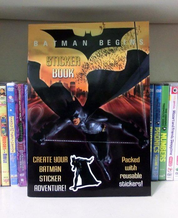 *【兒童英語繪本】*小pen~ Batman Begins ~ Sticker Book