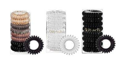 Kitsch Spiral Hair Ties, Coil Hair Ties