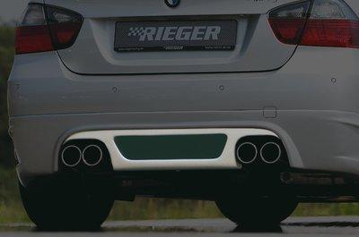 【樂駒】RIEGER BMW E90 E91 LCI 335i 後下擾流 後下巴 素材 空力 外觀 改裝 套件 需烤漆