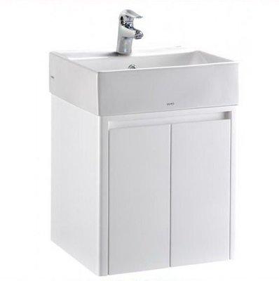 承豐~TOTO L710CGU檯面上臉盆 + 防水浴櫃L710(不含水龍頭) 100%防水發泡版 鋼琴烤漆