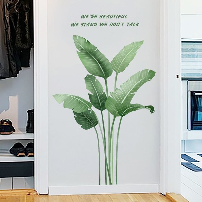 衣萊時尚-北歐INS風墻紙自粘貼畫臥室門貼溫馨創意個性房間裝飾布置墻貼紙(規格不同價格不同)