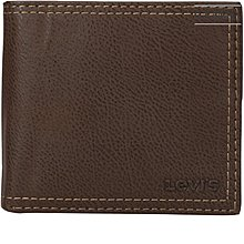 Levi's Men's Extra Capacity Slimfold Wallet 大容量真皮皮夾 錢包 L67