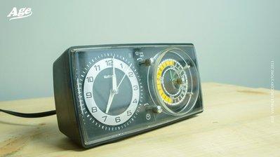 (停售)《Age 時光雜貨店》National 古董雙環 電鐘 定時器 連續掃秒 工業風 普普風
