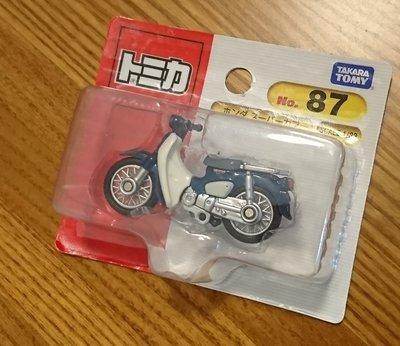 TOMICA 多美 Honda Super Cub 機車 復古機車 NO.087 日版