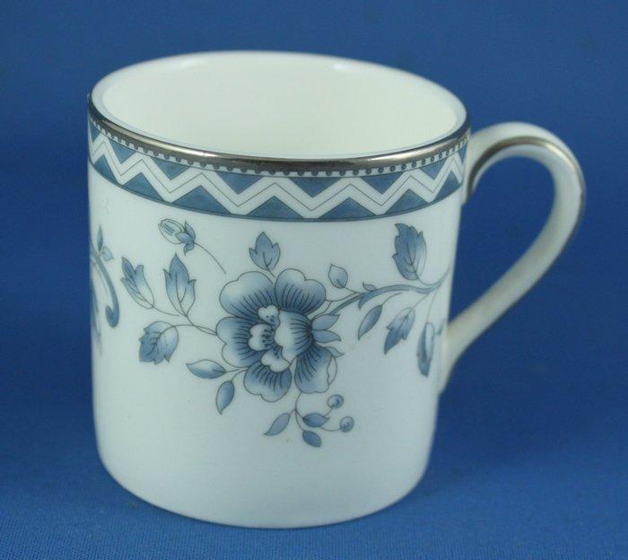 [美]ROYAL DOULTON濃縮咖啡杯(也可當中式茶杯).JOSEPHINE PLATINUM(直杯)