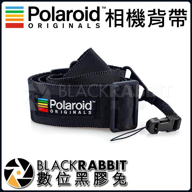 數位黑膠兔【 POLAROID相機背帶 黑/紅/藍 】寶麗來 背帶 相機 拍立得 周邊 高質感