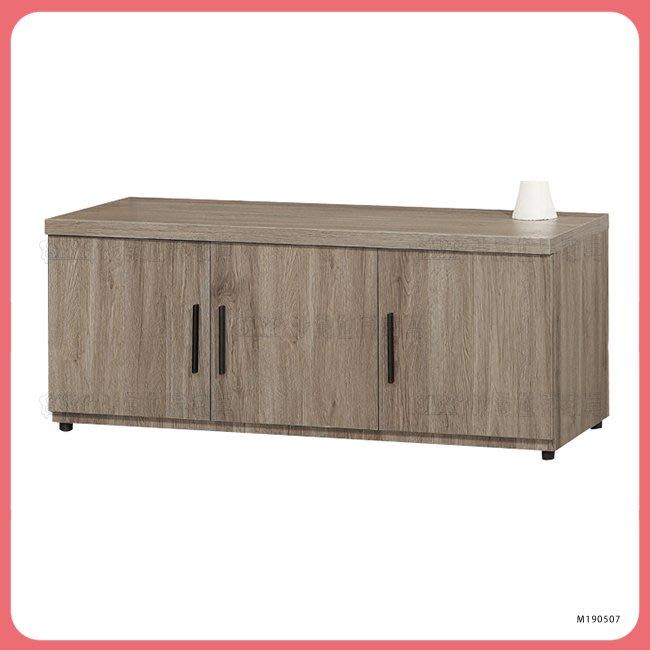 【沙發世界家具】灰橡色4尺座鞋櫃*全館破盤價,到店超值禮〈Y977954-5〉鞋櫃/矮櫃/邊櫃/高低櫃