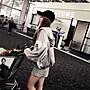 ☘小幸運☘現貨春裝新款 歐美緞面亮色休閒連帽拉鏈外套M
