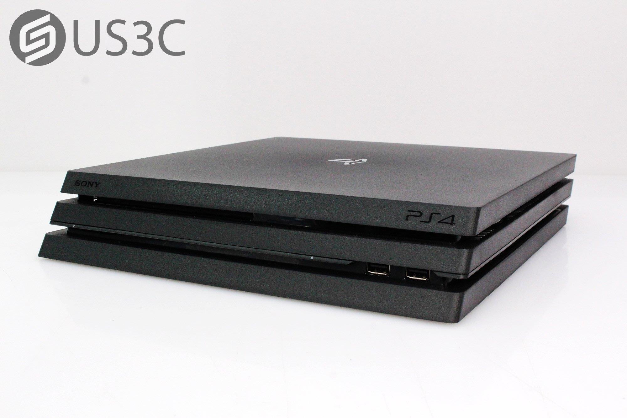 【US3C-小南門店】公司貨 索尼 Sony PS4 Pro CUH-7218B/7218型 極致黑 1TB 4K HDR 電玩主機 二手主機