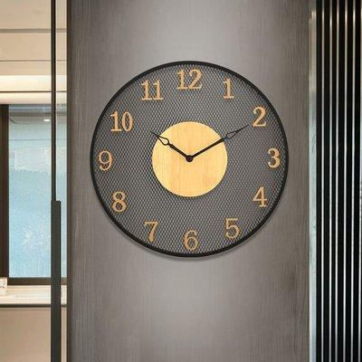 掛鐘 鬧鐘 墻壁鐘 裝飾鐘錶美式掛鐘客廳家用時尚個性創意時鐘臥室餐廳復古大氣掛表靜音鐘表