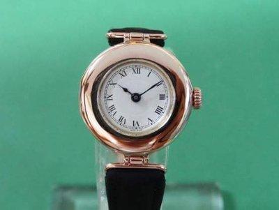 【讀冊人的老傢俬】勞力士 ROLEX 1920年正9K玫瑰金 女錶 古董錶 手錶 18k錶扣 k金龍頭 k金錶耳