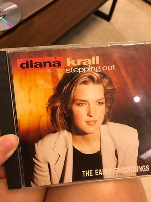 diana krall stepping out the early recordings 黛安娜·克瑞兒  CD TR