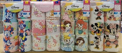 【小如的店】COSTCO好市多代購~台灣製 LICENSED 100%純棉女童內褲(一組6件)亞洲尺寸 37674