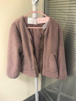 MB008C日本大牌保暖毛毛棒球外套
