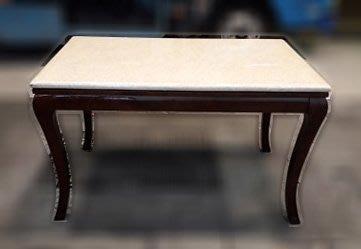 樂居二手家具 便宜2手傢俱拍賣 A0321CJJ 大理石餐桌 休閒桌*二手桌椅 辦公桌 電腦桌書桌 台北桃園台中