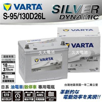 ✚久大電池❚ 德國 VARTA S-9...