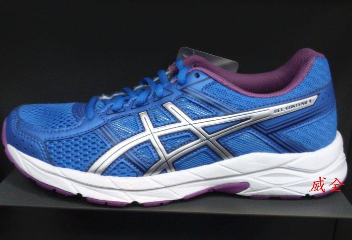 【威全全能運動館】亞瑟士 ASICS GEL-CONTEND 4 慢跑鞋 現貨 保證正品公司貨 女款T765N4393