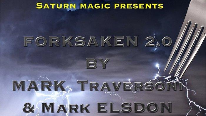【天天魔法】【S853】正宗原廠~叉子找牌2.0(Forksaken 2.0 by Mark Traversoni)
