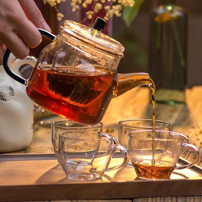(免運)泡茶壺高溫耐熱過濾花茶家用玻璃水壺泡茶器 [BOOM]