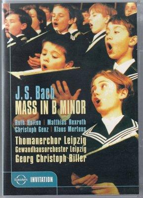 音樂居士#Bach Mass in B Minor 巴赫:B小調彌撒 圣湯瑪斯教堂唱詩班 D9 DVD