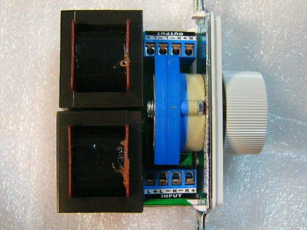 【昌明視聽】ELEMENT 12段喇叭音量控制器 (面板有螺絲孔設計) 高階HI FI立體聲擴大機適用
