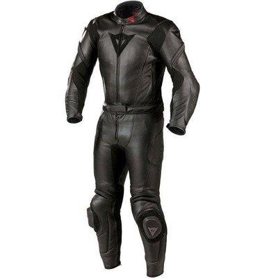 DNS部品 Dainese M6 兩件式連身皮衣 連身皮防摔衣 皮衣 皮褲