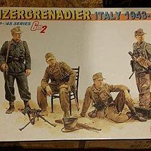 DRAGON 1/35 GERMAN PANZERGRENADIER ITALY 1943-45 WWII