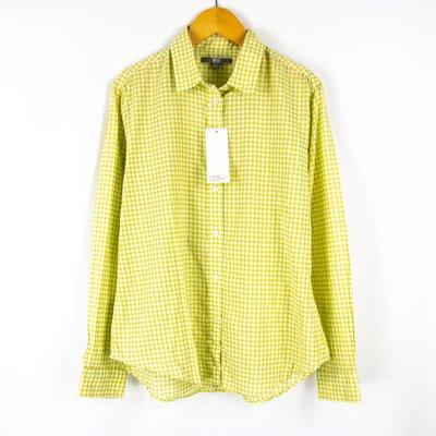 【艾莉娜】全新品 UNIQLO 純棉格紋襯衫 L號 ~ 3T55