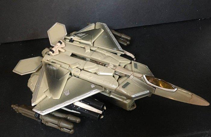 外F 現狀品: 正美版 變形金剛 電影 1 V級 巡戈戰將 STARSCREAM 天王星  天富玩具店