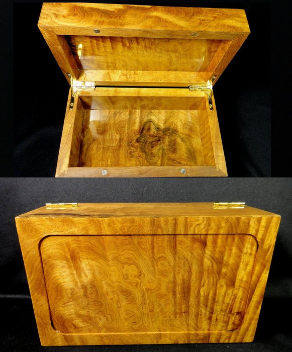 [福田工藝]台灣肖楠閃花Q絲瘤*飾品盒珠寶盒印章盒雜物盒*聞香把玩/裝飾擺飾[飾品盒7]