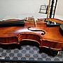 天然100%活化生漆原味手工提琴4/4~證書編號:EA039~台灣製~2003年製造~贈備弦一組(TONICA)+調音器