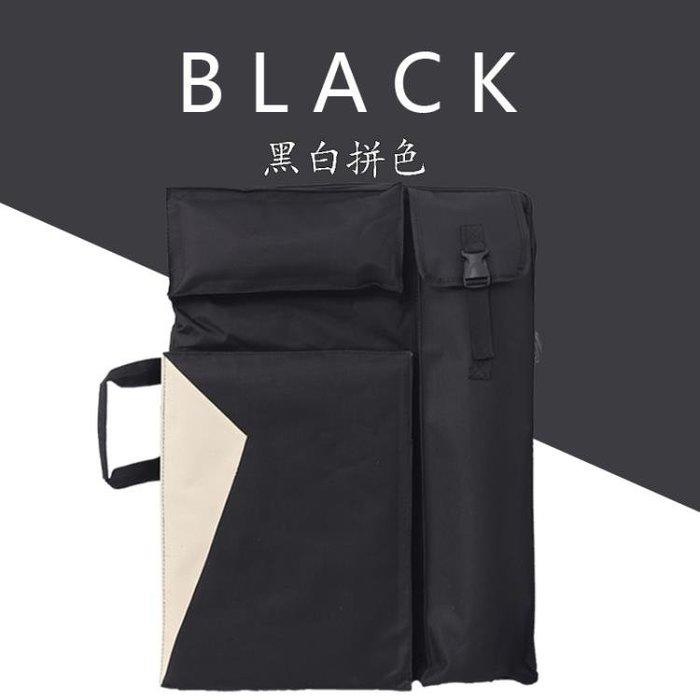 畫包素描畫板袋雙肩背4k多功能防水畫袋帆布畫板袋寫生畫板包MJBL