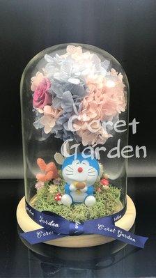 Doraemon 叮噹 多啦A夢 保鮮花 花樹