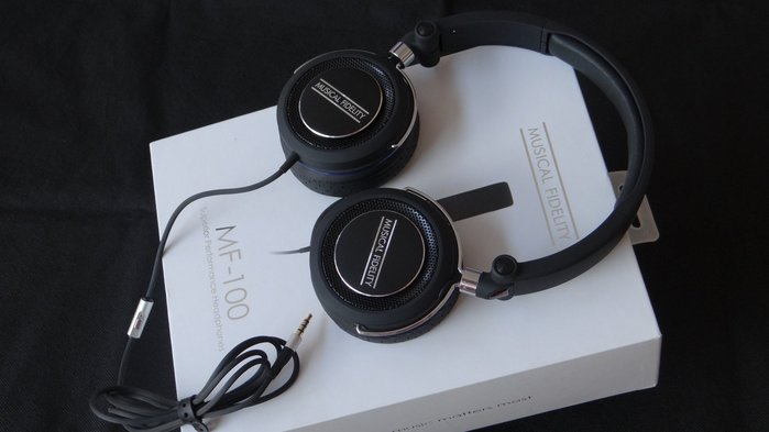 【強崧二館】英國 Musical Fidelity MF-100 耳罩式耳機Made in