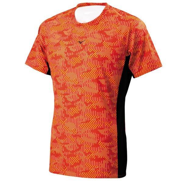 美津濃Mizuno~吸汗快乾 抗菌消臭 慢跑 路跑 路跑短袖T恤 (J2TA700262) 《新動力》